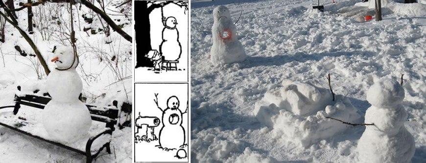 Classic Calvin & Hobbes Snowmen Nightmares
