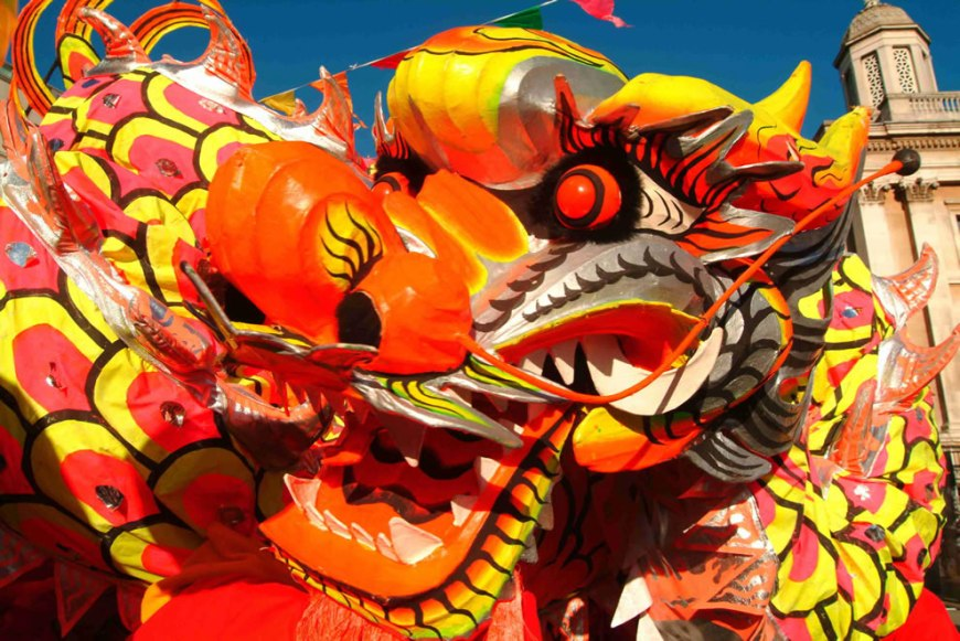 Dragon dance, Chinese Lunar New Year -- 2012 Year of the Dragon