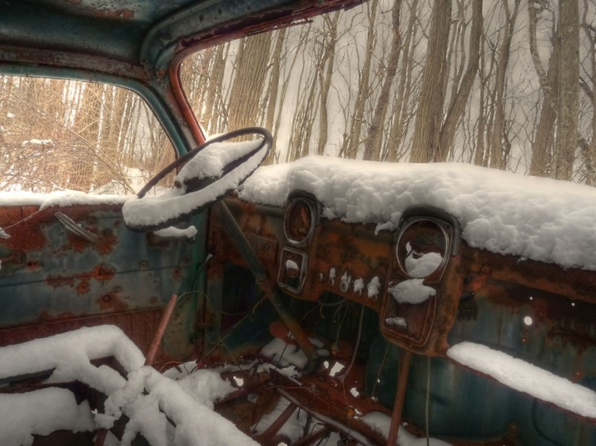 Abandoned New Jersey, Winter drive through Marlboro woods