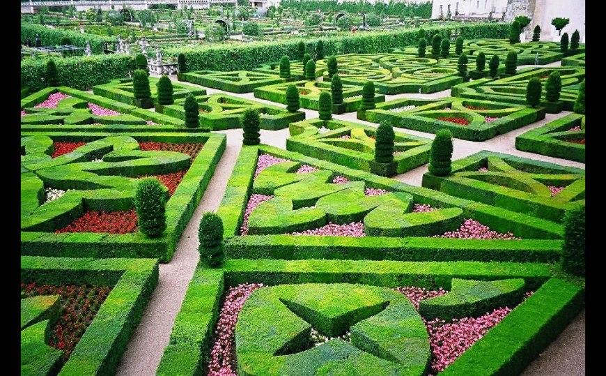 Château de Villandry Gardens -- Loire Valley