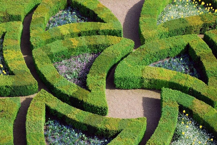 Château, vue sur le jardin d'Amour