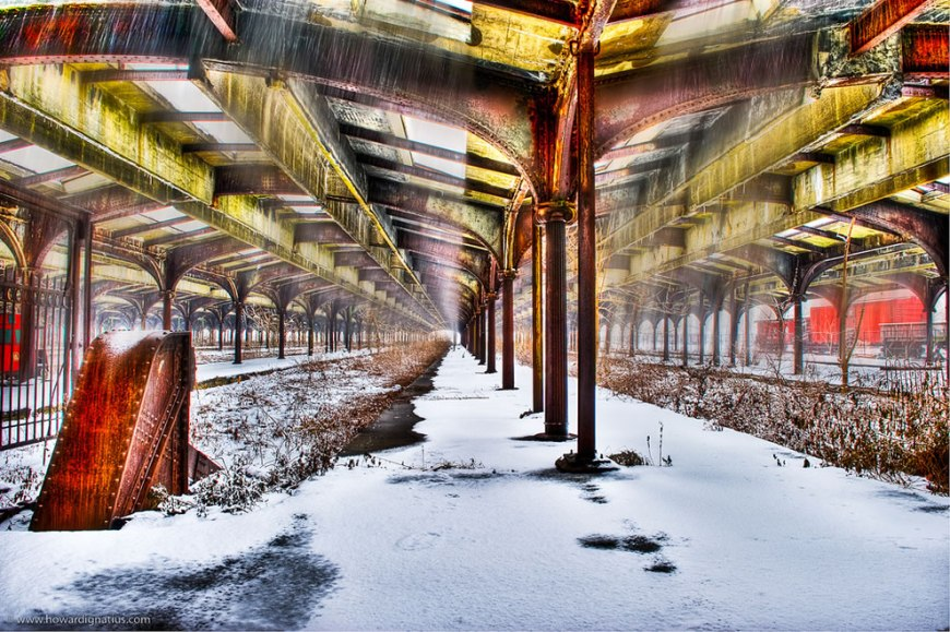 Derelict Concourse at Communipaw Terminal (CRRNJ), Jersey City, NJ