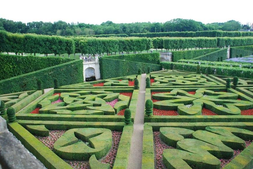Formal garden at Villandry
