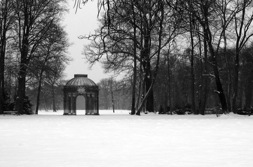 The Gitterpavillon at Sanssouci, Potsdam, Germany