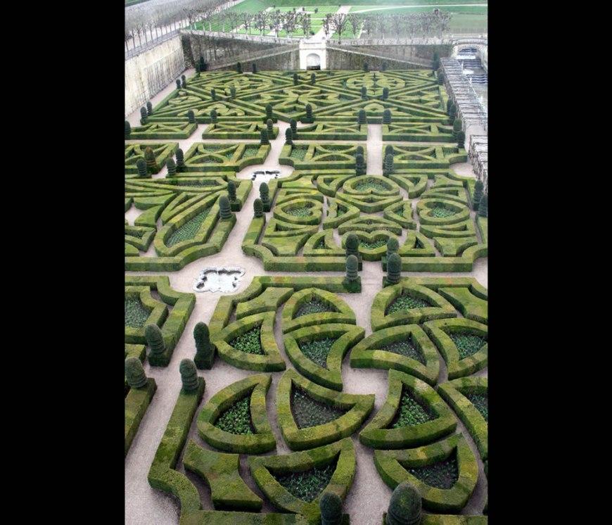 UNESCO World Heritage - Château de Villandry Gardens