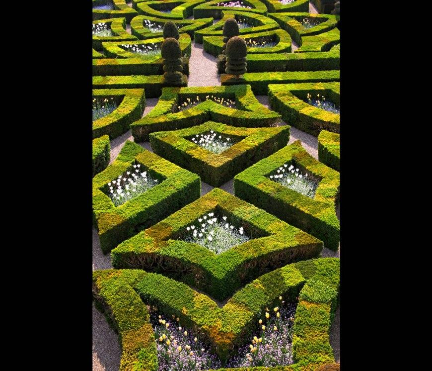 Villandry. Les jardins du château
