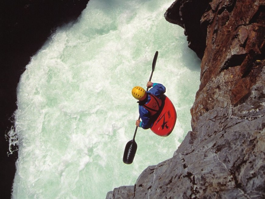 25 Foot Drop Clear Creek Klamath National Forest California