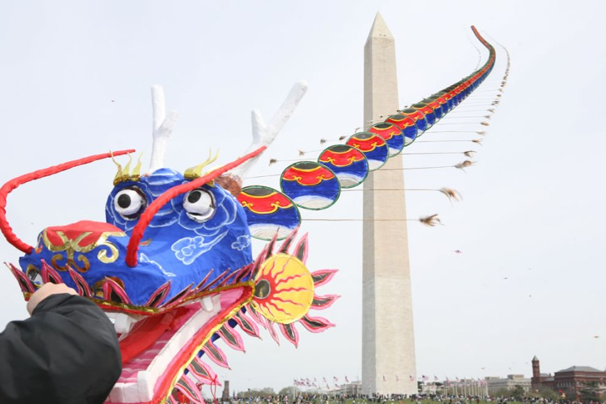 dragon kite DC kite festival