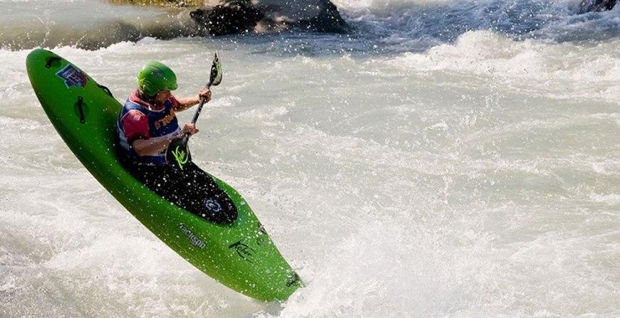 Kayaking in Ivrea, Italy