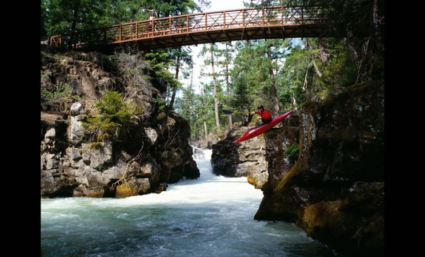 Launching North Fork Rogue River Rogue River National Forest Oregon