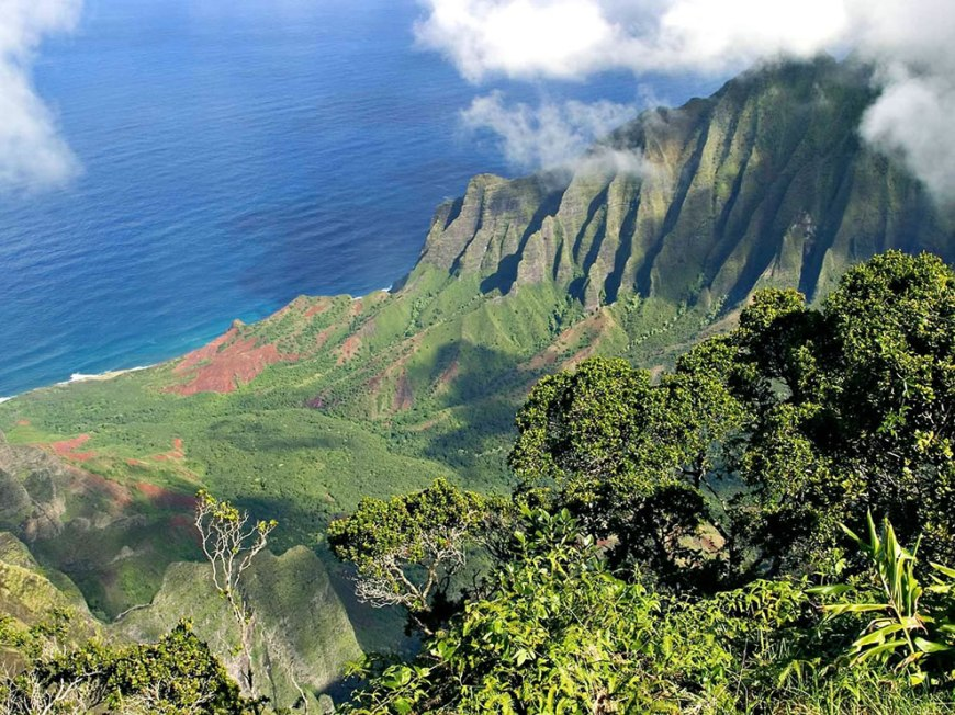 Napali Coast, Garden Isle of Kauai, Hawaii