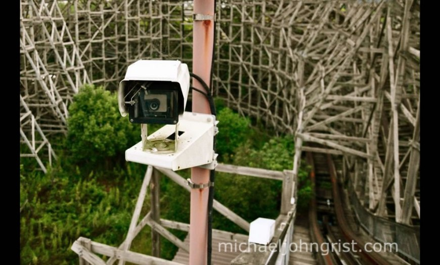 Nara Dreamland September 2010 Urban explorers often have to dodge security and remember someone may be watching