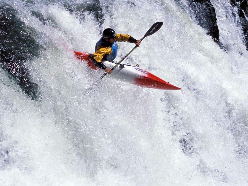 Running the White Salmon River Washington