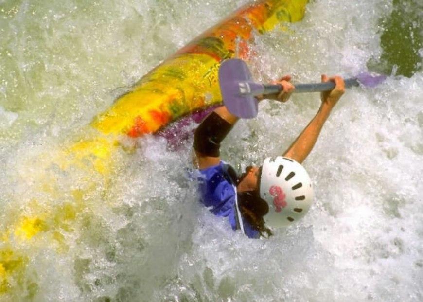 White water rapids via kayak, Santa Rita Hole Animas River