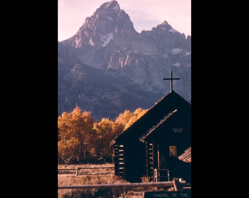 Chapel of Transfiguration -- Grand Teton National Park
