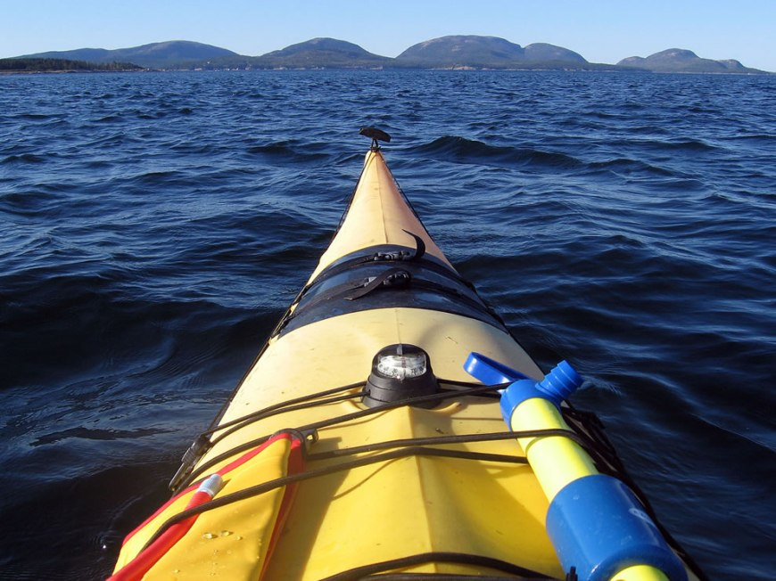 Kayaking at Acadia