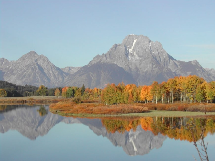 Oxbow Bend at Fall - Grand Teton NP