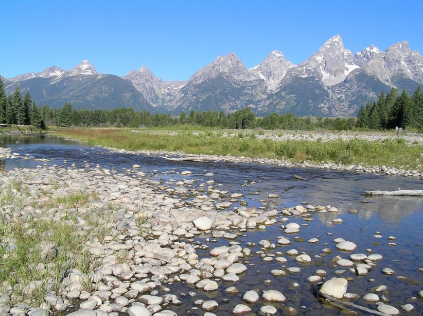 Snake River at Schwabachers Landing