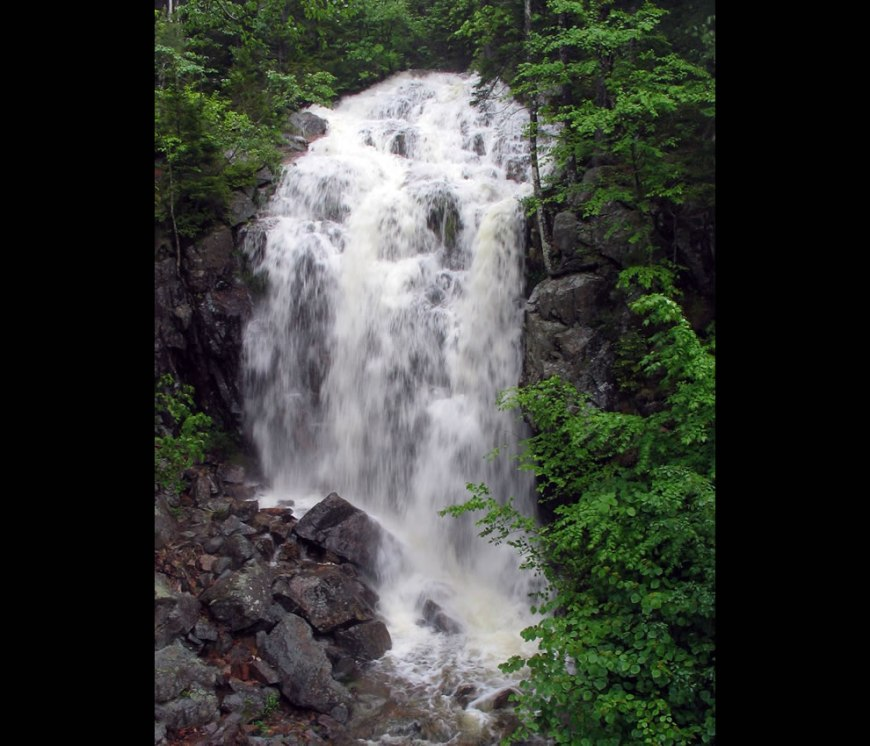 Waterfall at Acadia National Park