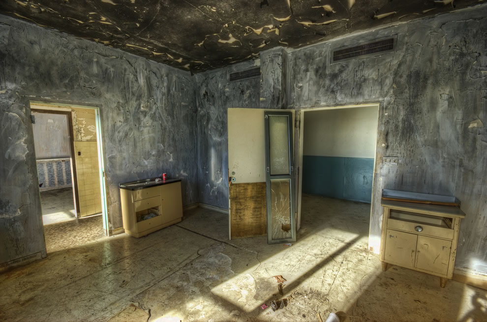 Abandoned haunted linda vista community hospital future for Haunted room ideas