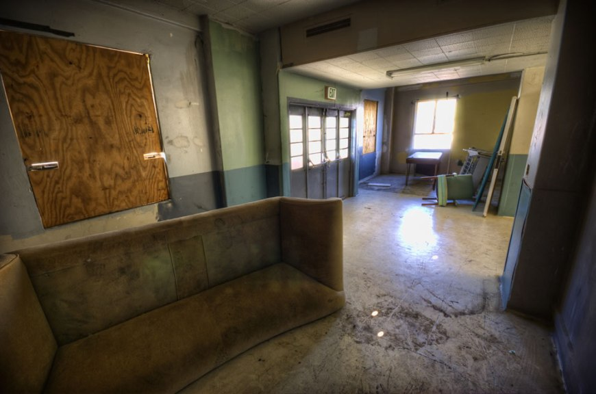 Abandoned Linda Vista Hospital Haunted Coins