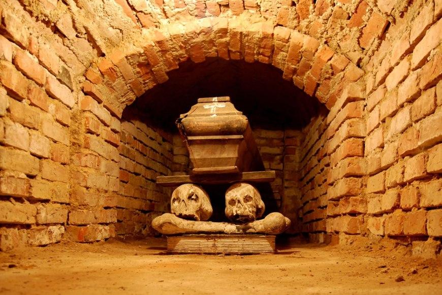 Crypt in Wola Gułowska, Lublin Province, Poland