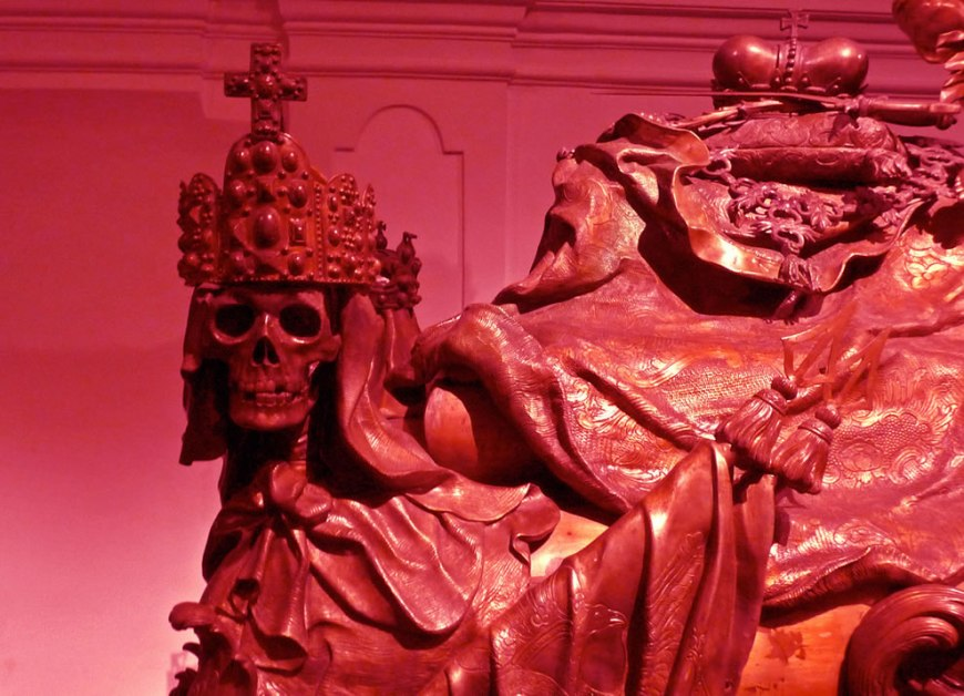 Imperial Crypt in Vienna - The Masque of the Red Death