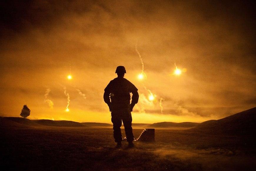 night fire range