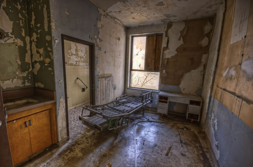 Creepy Abandoned Haunted Hospital: Soon to House Senior ...