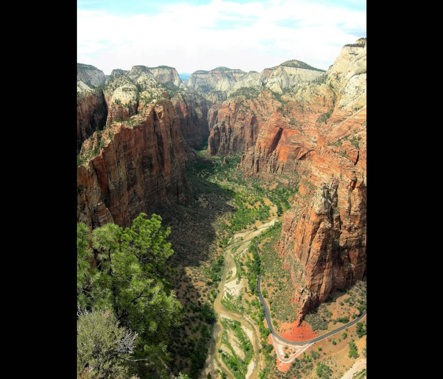 Angels Landing-Zion National Park-Utah