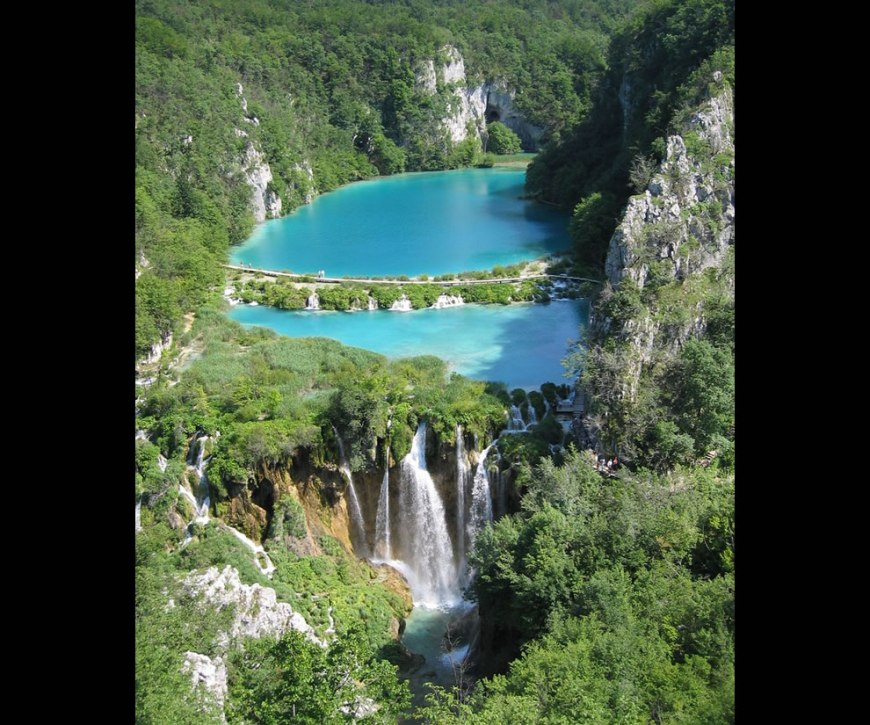 Falling Lakes, Plitvice National Park, Croatia