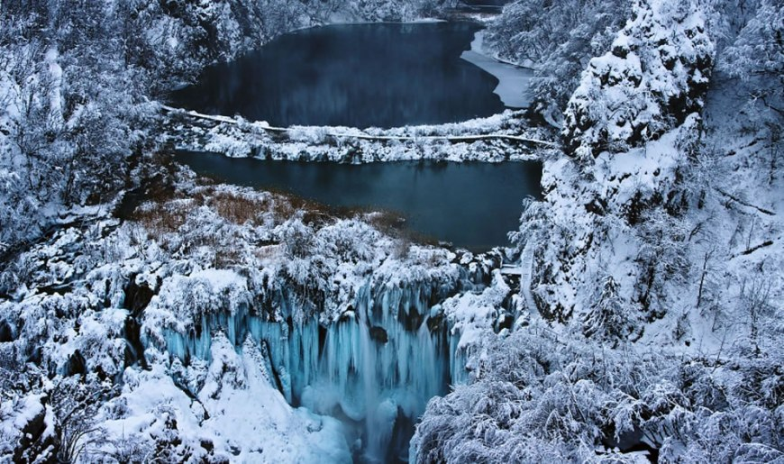 Plitvice in Winter