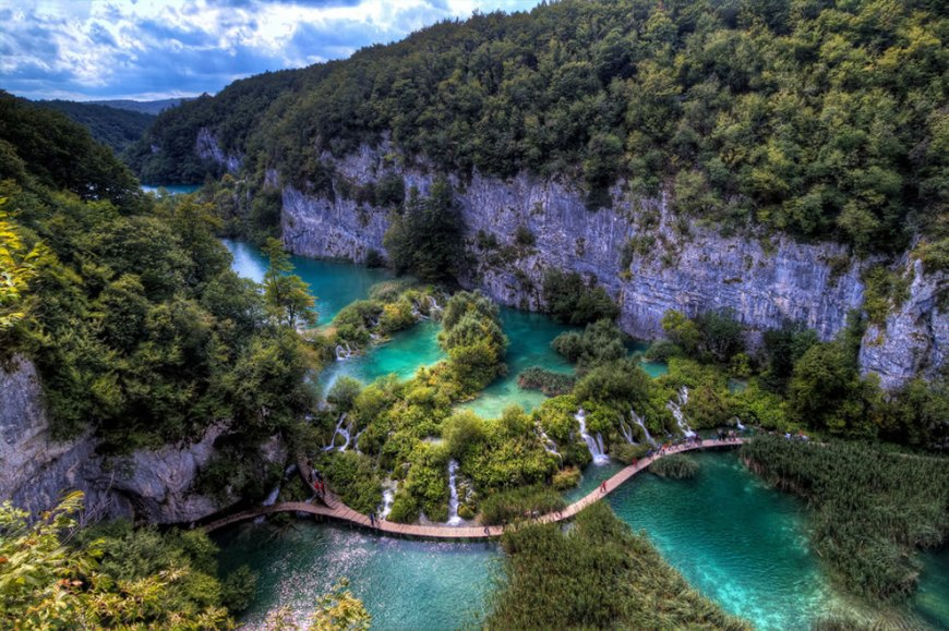 Sublime Plitvice Lakes, Croatia