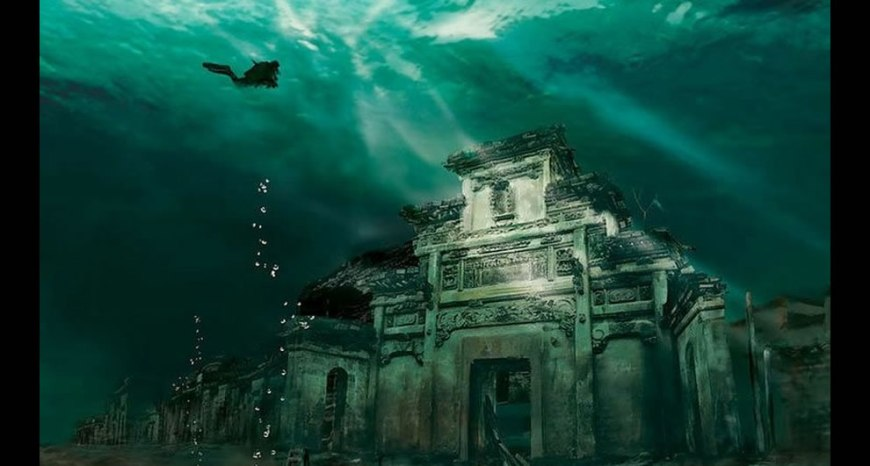 Submerged Shi cheng, underwater exploration of lost ancient Lion City