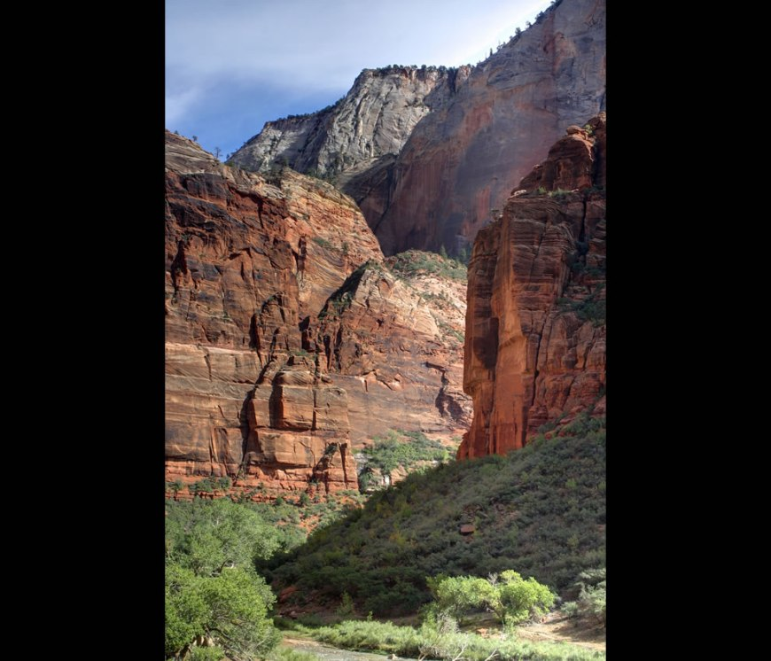 Three cliffs Zion National Park