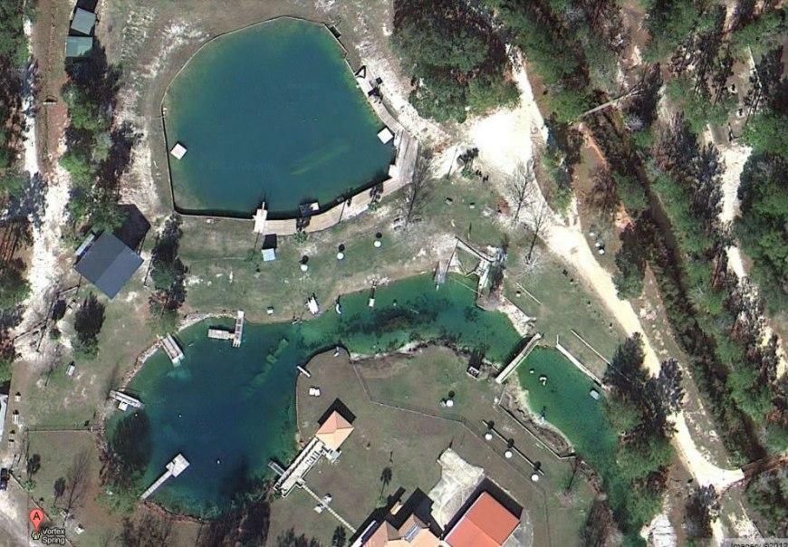 Vortex Springs in Ponce de Leon Florida