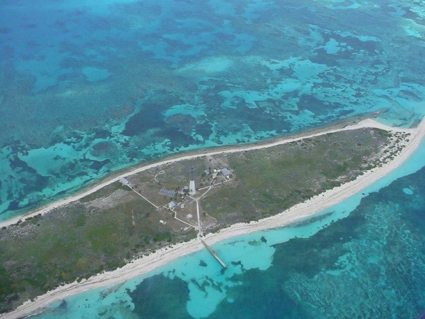 Aerial view Loggerhead Key