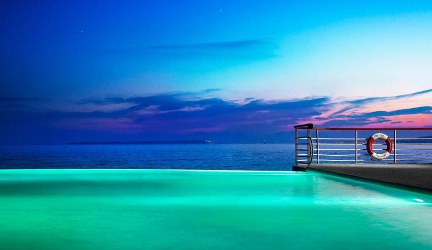 Infinity pool at Hotel Du Cap Eden Rock
