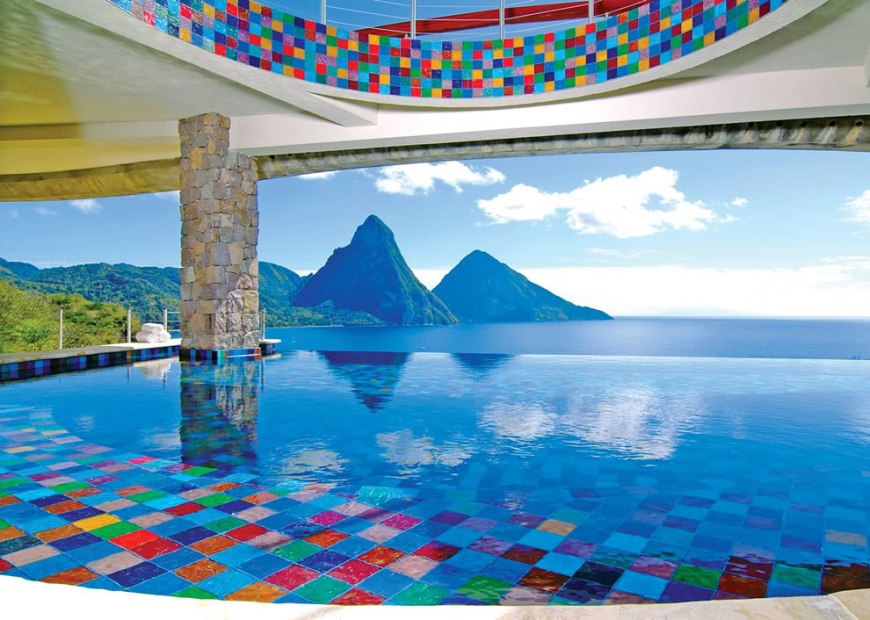 INFINITY SUITES AT ANSE CHASTENET RESORT at ST. LUCIA