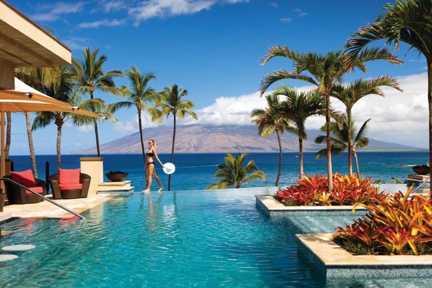 Maui Four Seasons infinity pool