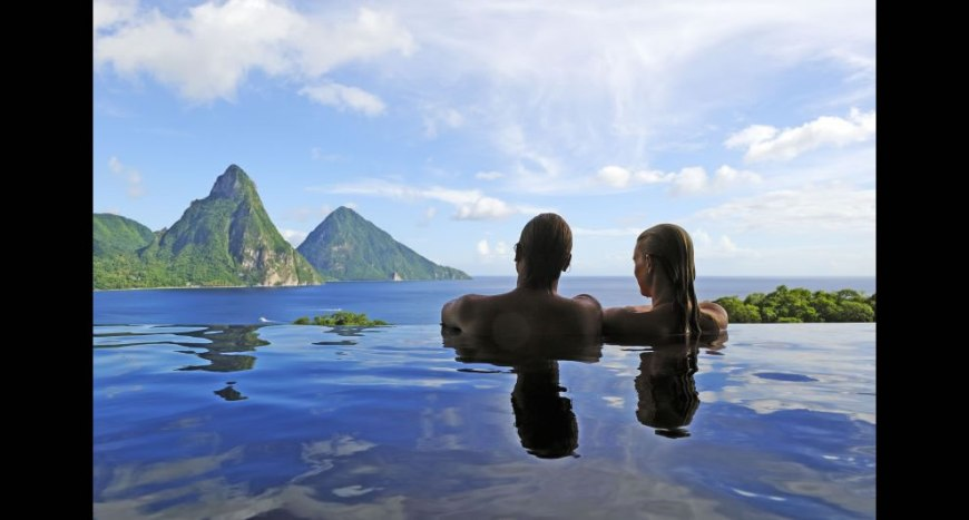 romance heavenly view and infinity pool for two