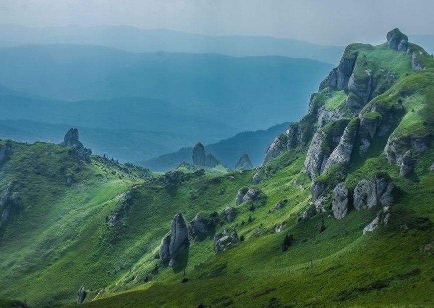 Ciucas Mountains Outdoor Scenes Carpathians of Romania