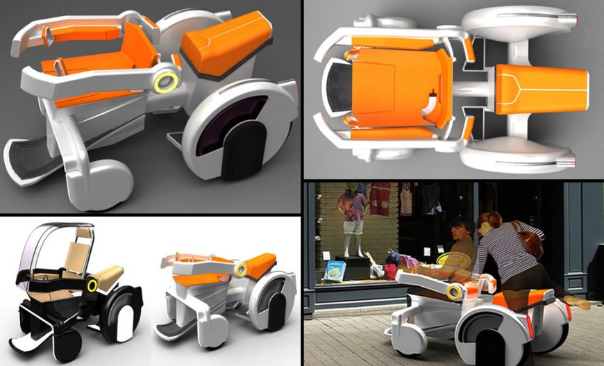 Designing for Social Stigma by designer Alexandre Pain wheelchair design concepts