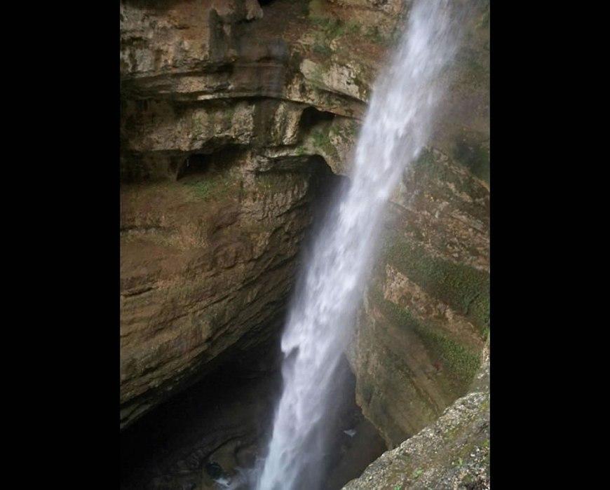 Lebanon, Baatara gorge waterfall