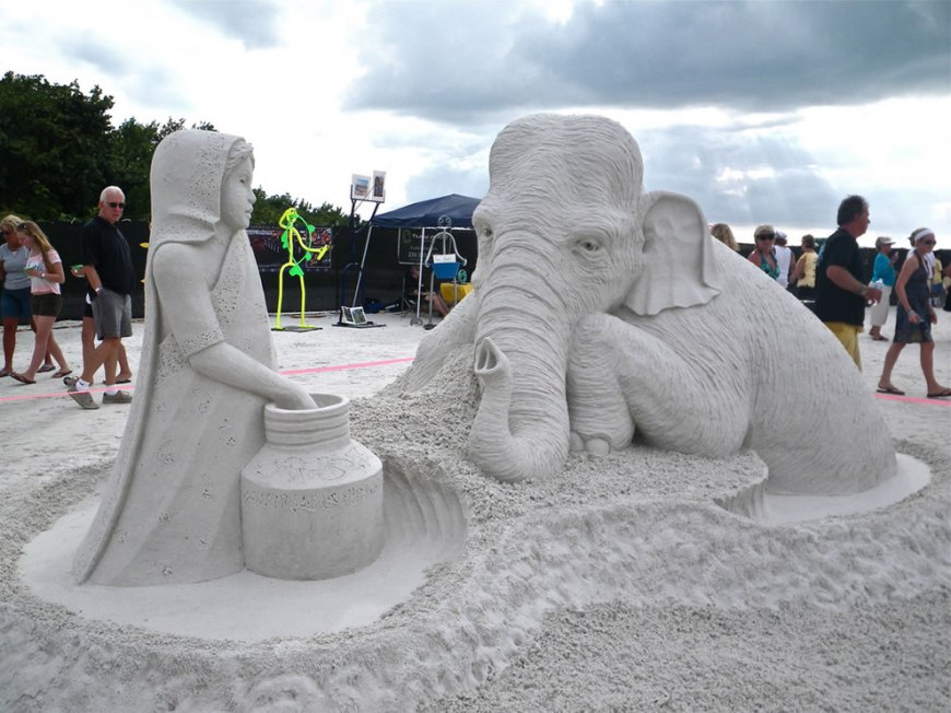 peoples choice worlds championship solo sand sculpture award winner