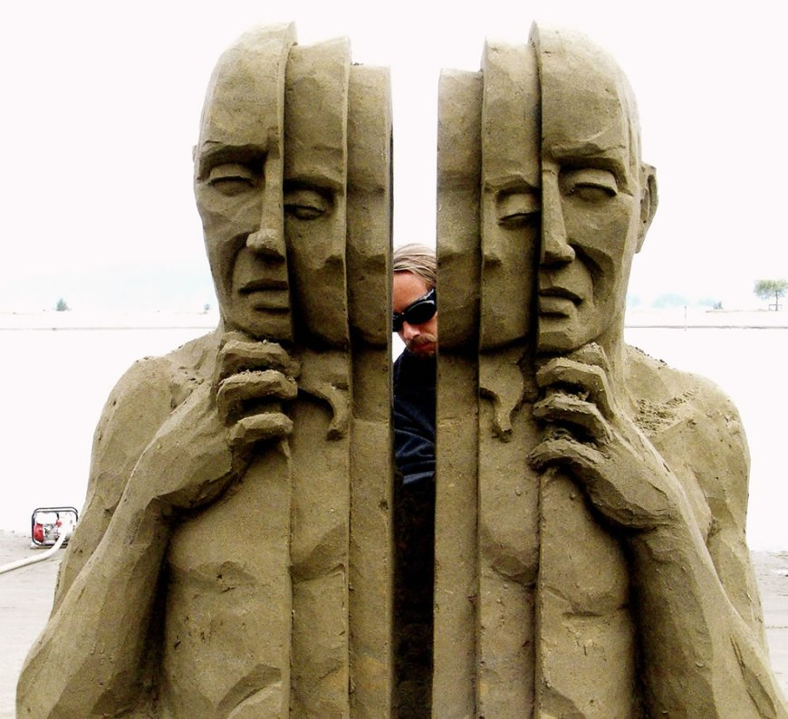 World Championships of Sand Sculpting Inner Self - Crack open your outer shell