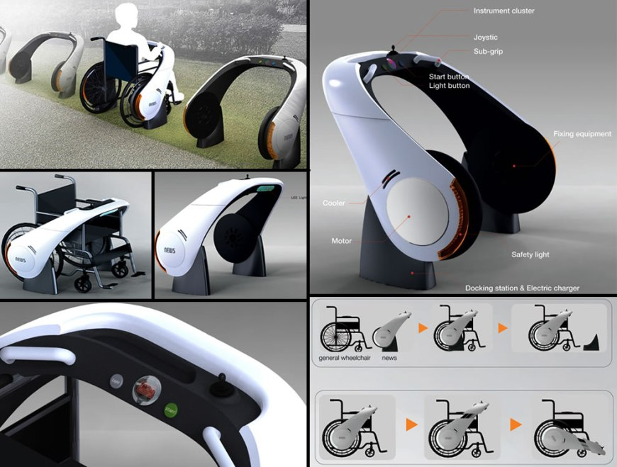 35 wildly wonderful wheelchair design concepts Luxury wheelchairs