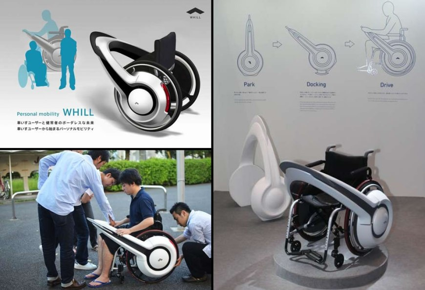 Personal Mobility Whill wheelchair design concept