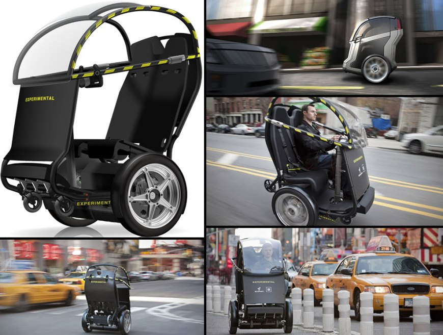 Segway P.U.M.A. (Personal Urban Mobility & Accessibility) prototype